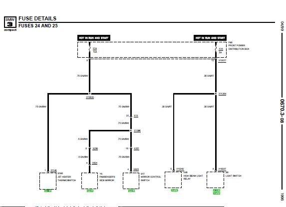 repair manuals bmw 318ti 1998 electrical repair. Black Bedroom Furniture Sets. Home Design Ideas