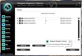 NETGATE Registry Cleaner 17.0.190.0 Full Serial