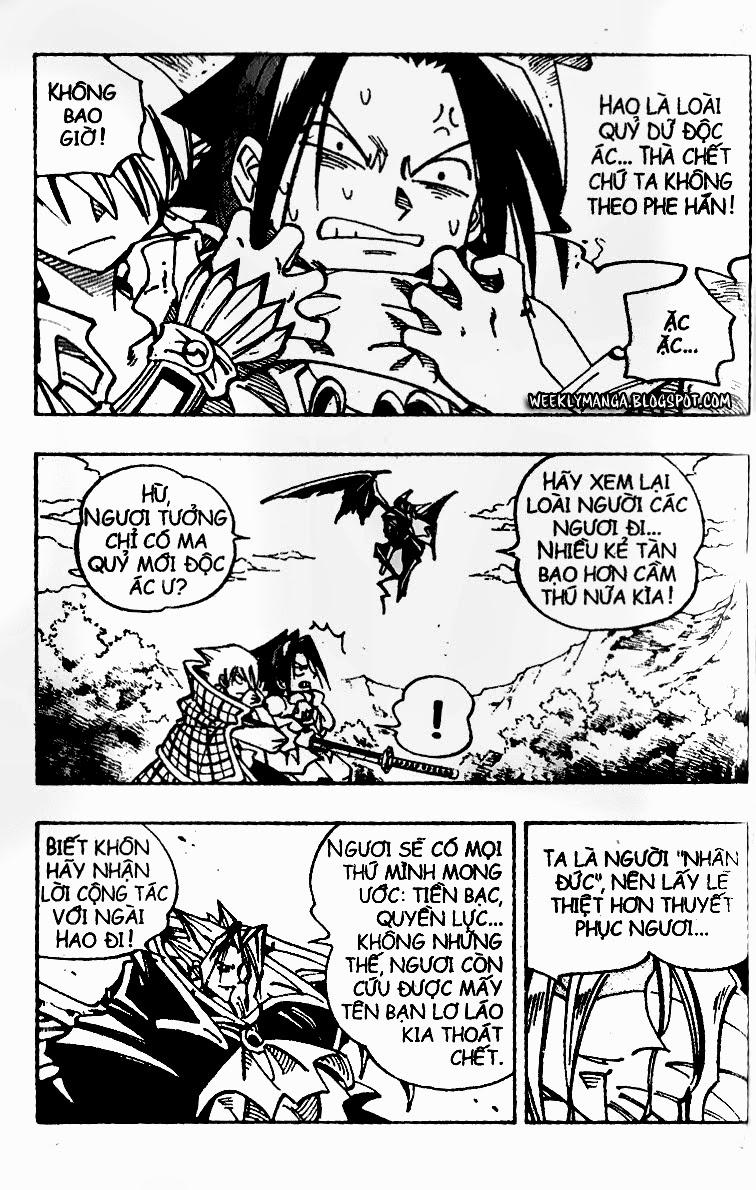 Shaman King [Vua pháp thuật] chap 100 trang 6