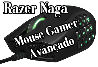 mouse gamer razer naga para jogos