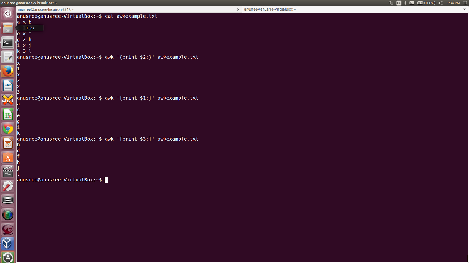 anusree: awk and sed command in linux - examples