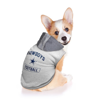 nfl pet hooded sweater