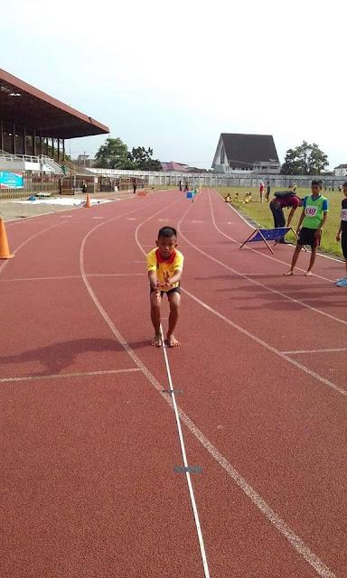 Andika Romi Saputra Membawa Nama Sekolah di Cabang Atletik di Tingkat Provinsi Jambi 2018