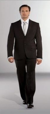 Males: professional office attire