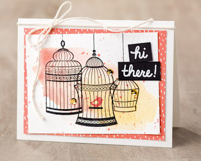 Stampin' Up! Builder Birdcage ~ 2017 Occasions Catalog
