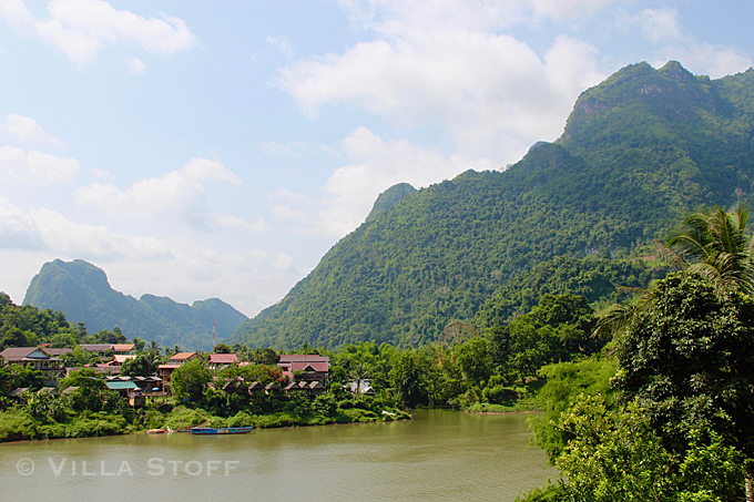 unsere Weltreise mit Kind • Nong Khiaw, Laos