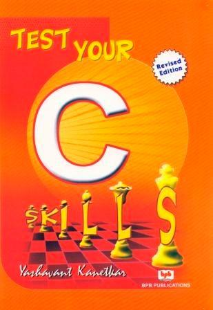 Ebook yashwant your c download kanetkar test by skills