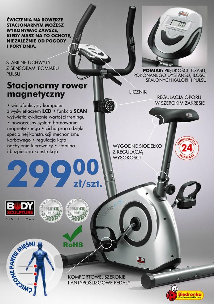 Testujemy Produkty Z Biedronki Stacjonarny Magnetyczny Rower