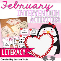 https://www.teacherspayteachers.com/Product/Intervention-Activities-for-February-2316140