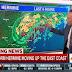 東海岸に北上中、ハリケーン「ハーマイン」がフロリダ州に上陸