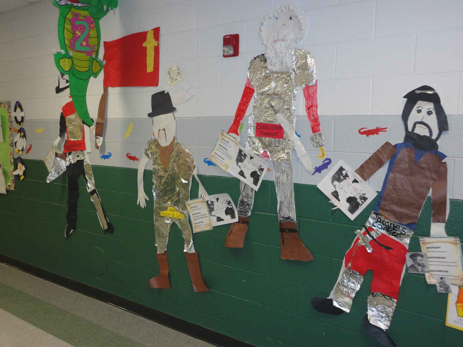 Our project made the Explorers came to life!