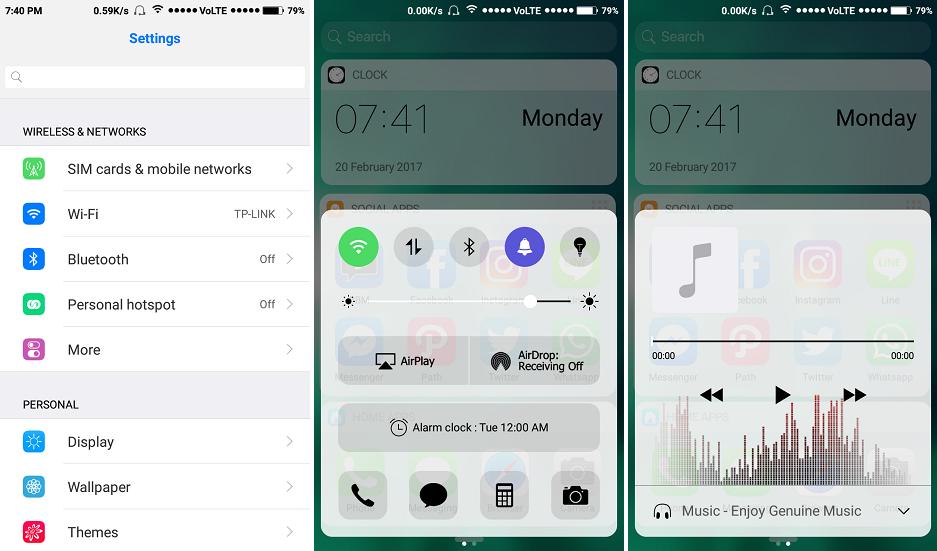 iOS 10 1 CLEAR & WHITE Themes by khaerryanwar ~ MI BLOG