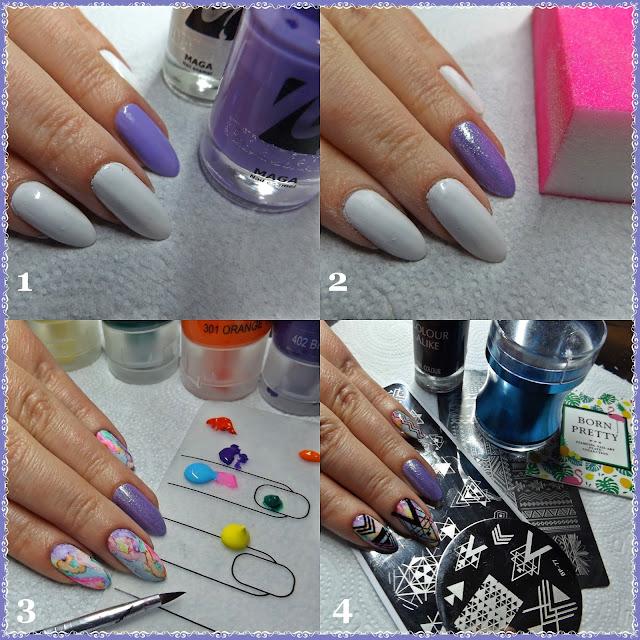 http://snaily-nails.blogspot.com/2017/05/geometryczny-mix-na-teczowym-blur-effect.html