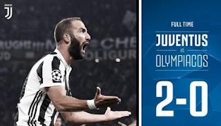 Juventus Menang 2 -0 atas Olympiacos - Liga Champions Highlights
