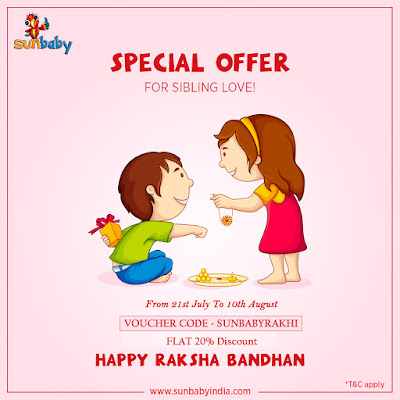 Sunbaby Special Rakhi Offer