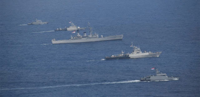 Lima Kapal Perang TNI AL Berada di Perairan Natuna, Ada Apa?