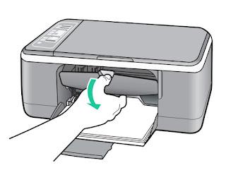 HP Deskjet F4180 cambiar cartuchos