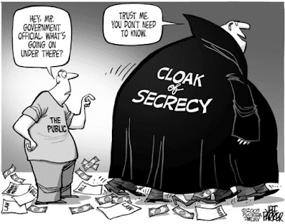 cartoon about government secrecy