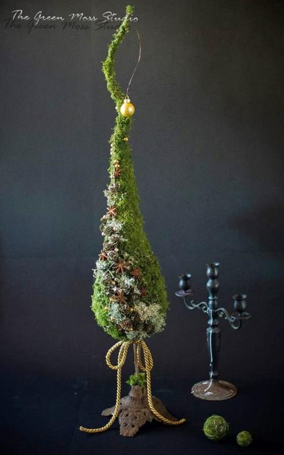 choinki świąteczne inaczej