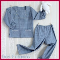 Patrones gratis pijama de niño