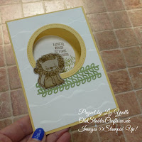 A Little Wild So Saffron Baby Lion Card