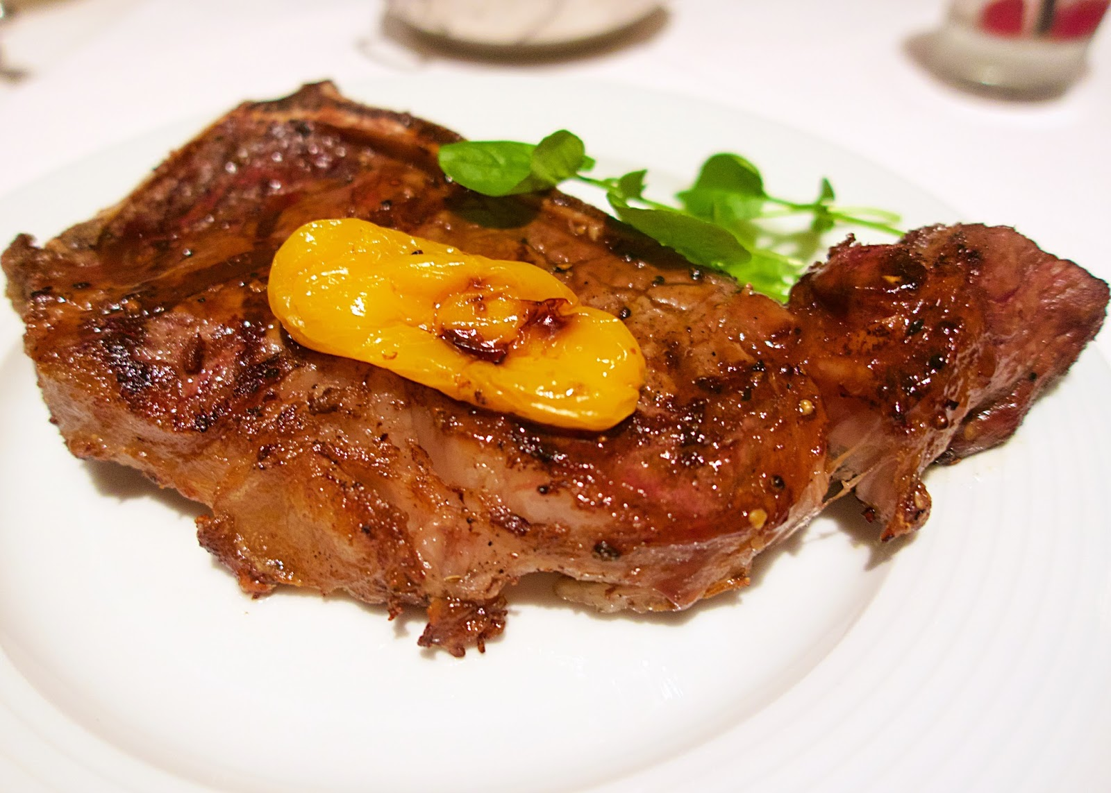 Gallagher's Las Vegas - dry aged NY Strip