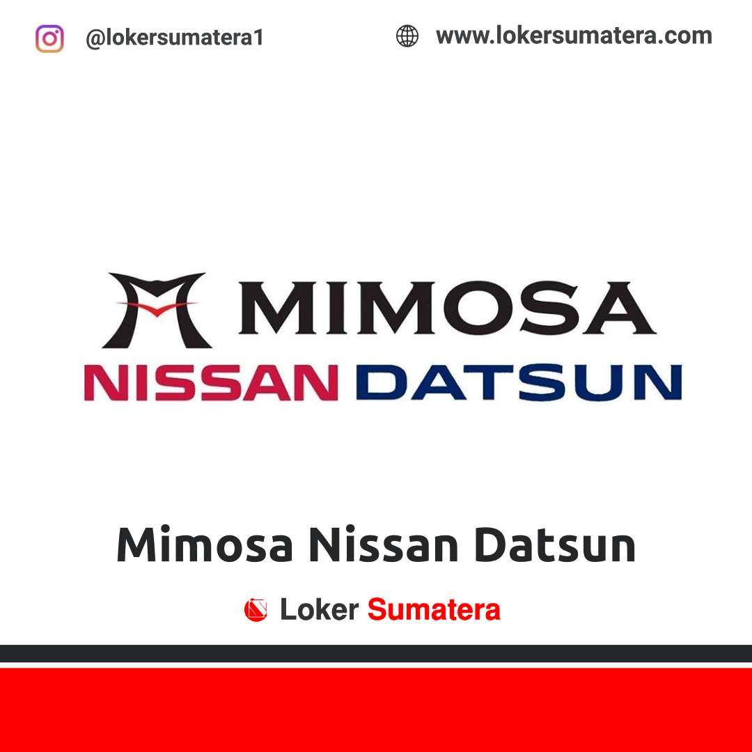 Lowongan Kerja Medan: Mimosa Nissan September 2020