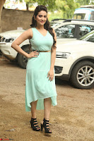 Manjusha in beautiful thin green gown At Jaya Janaki Nayaka le Logo Launch ~  Exclusive 137.JPG