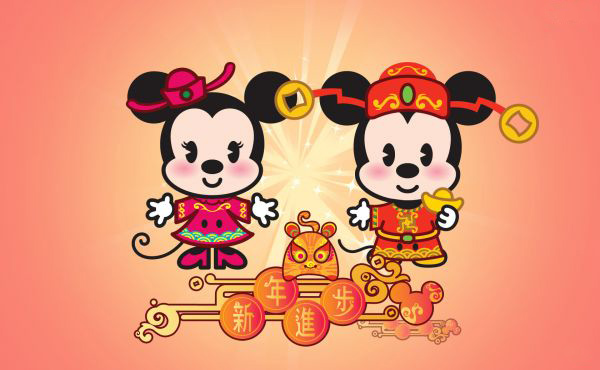 zunea zunea  Chinese New Year Cartoon Cards     here to wish happy Chinese new year to all in their own style of  animation and fun  Click to grab your free copy of the Chinese New Year  Cartoon Cards