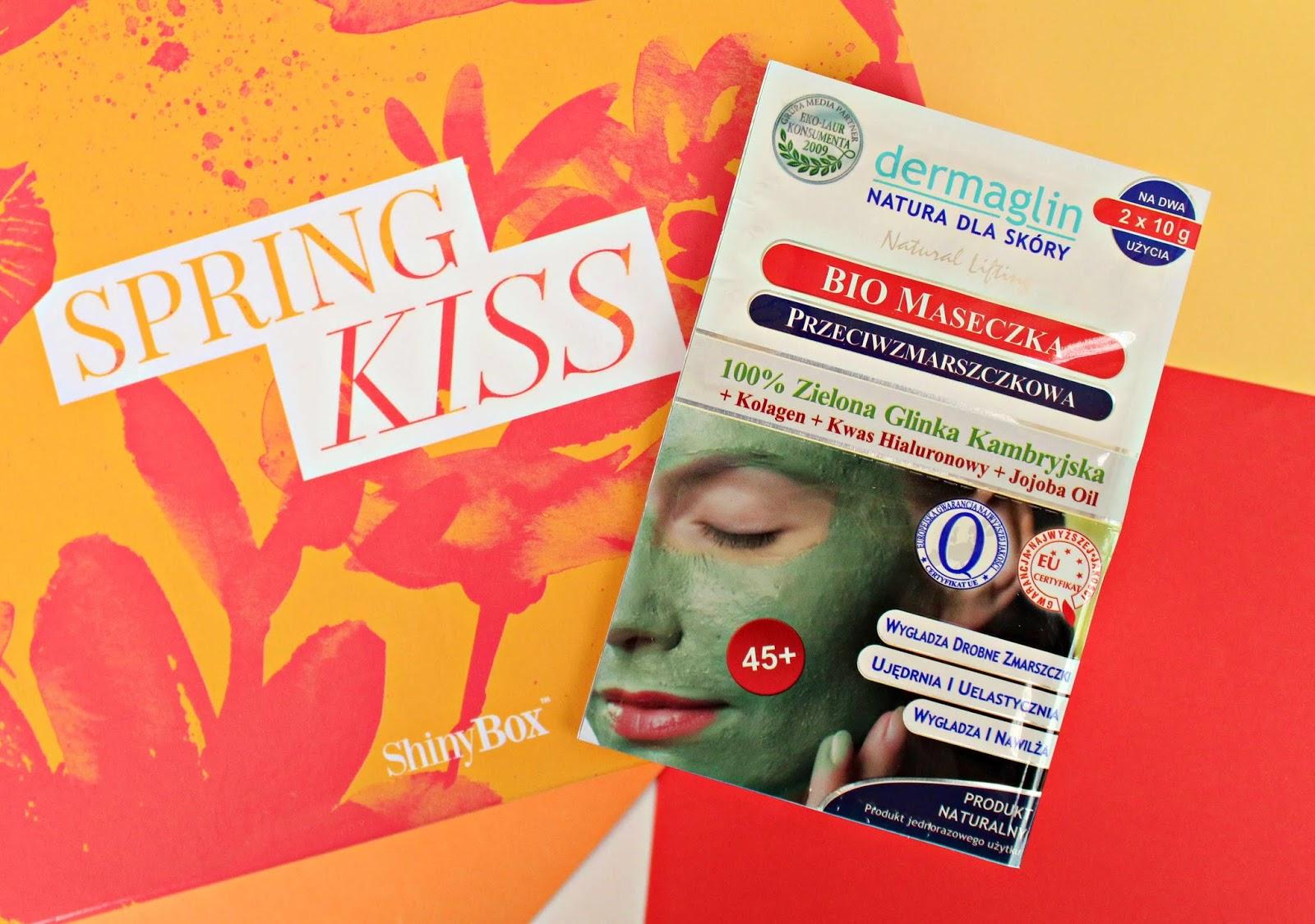 DERMAGLIN - maseczka do twarzy z zieloną glinką kambryjską