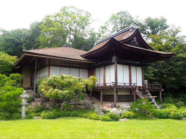Okochi Sanso villa, Arashiyama, Kyoto, Japan