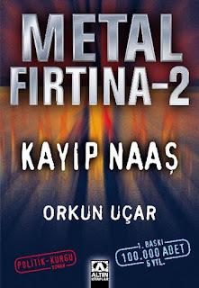 Kitap Yorumları, Metal Fırtına, Kızıl Kurt, Orkun Uçar, Altın Kitaplar, Roman, Fantastik, Edebiyat,