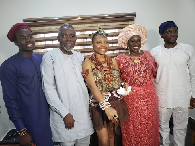 Nollywood power couple Olu Jacobs & Joke Silva celebrate 33rd Wedding Anniversary