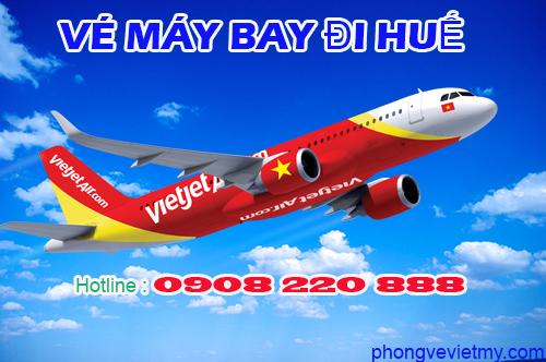 Vé máy bay đi Huế hãng Vietjet Air