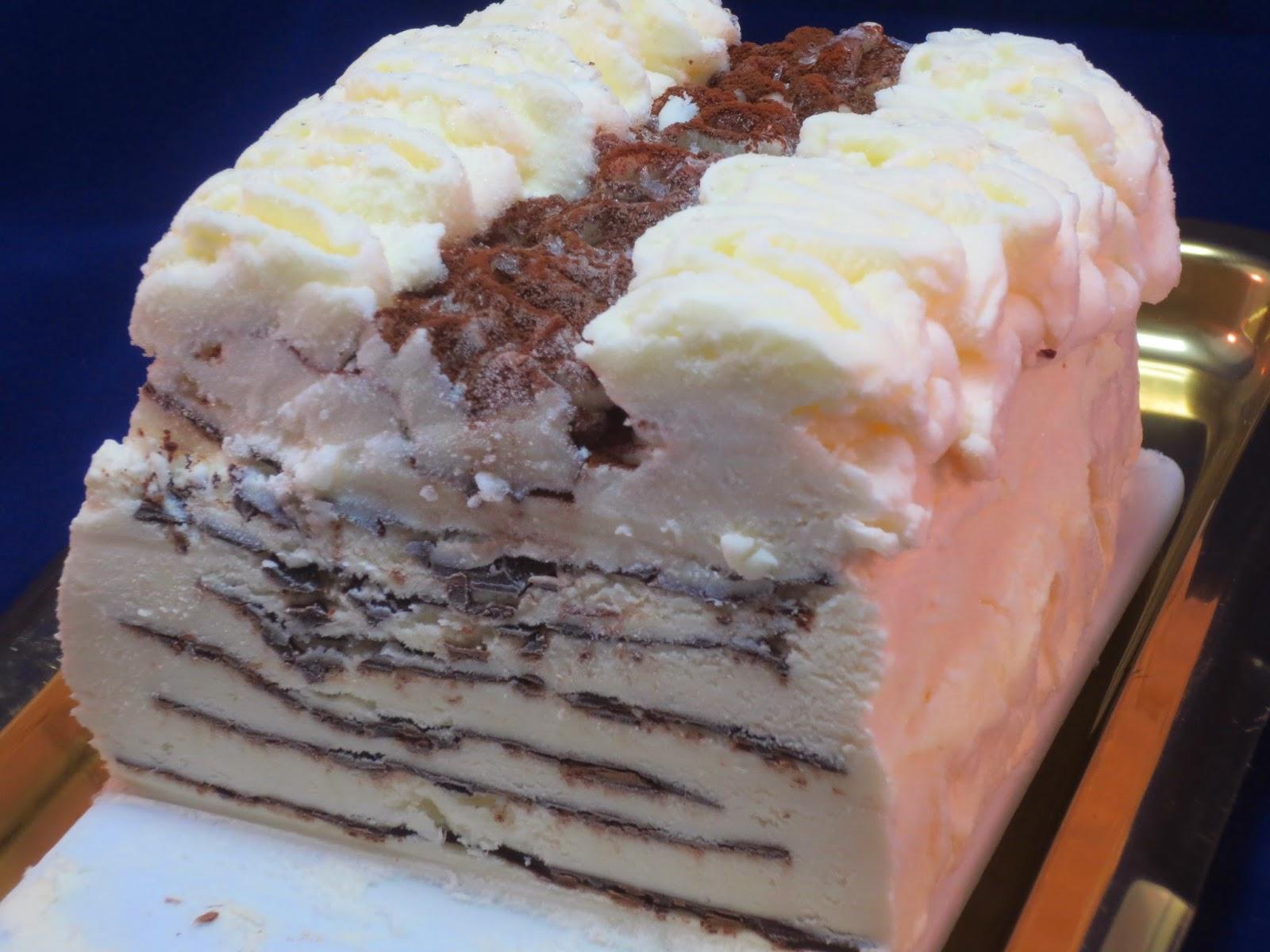 Tarta helada contessa Ana Sevilla con Thermomix