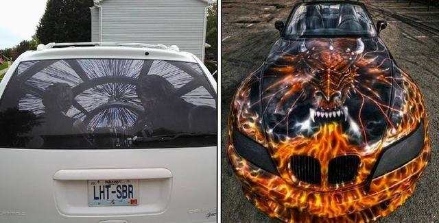 21 Strange Decals People Actually Tried On Their Cars