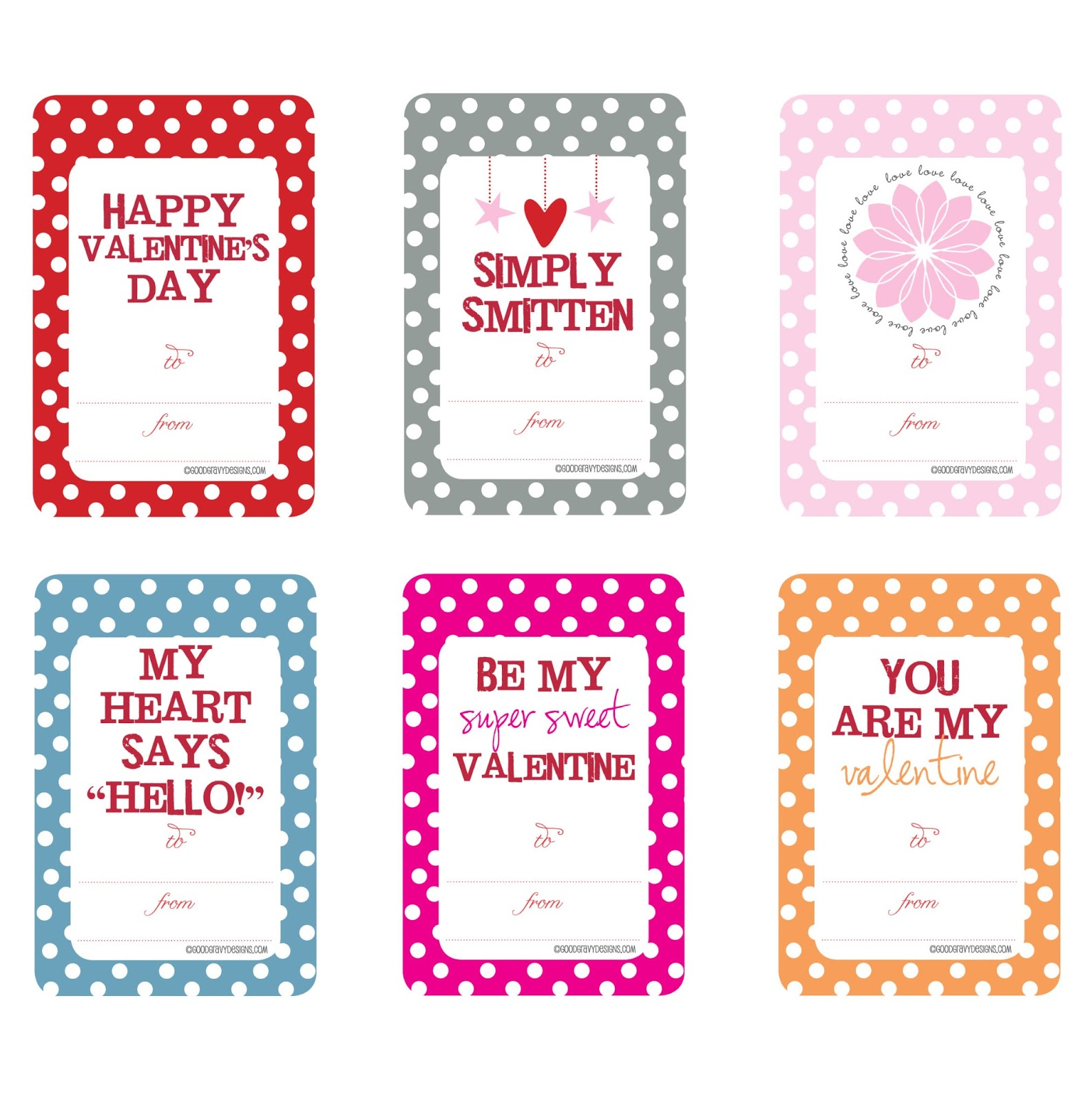 Iheartprintsandpatterns Valentine S Day Printables