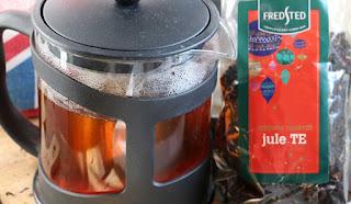 A pot of lovely Christmas Tea