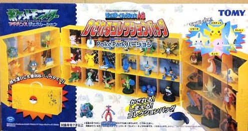 Jirachi figure Tomy AG Monster Collection Bag PokePark version