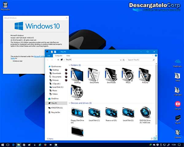 Windows 10 Lite x 64 Bits