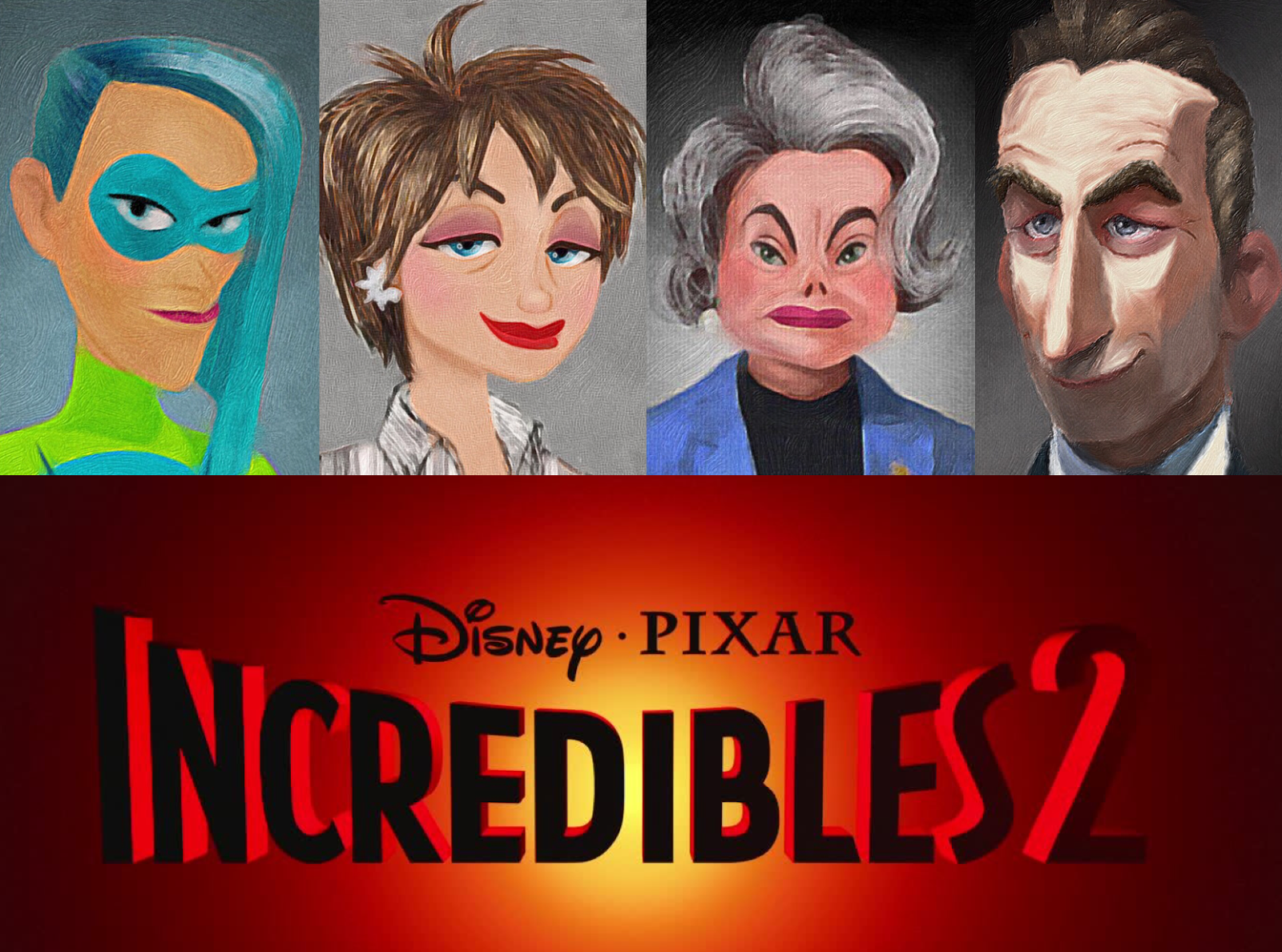 Meet Four New Characters From Incredibles 2 And Learn New Plot Details Pixar Post