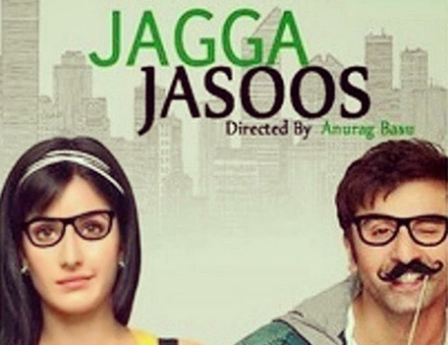 Jagga Jasoos First Look Poster ft Ranbeer kapoor and Katrina kaif