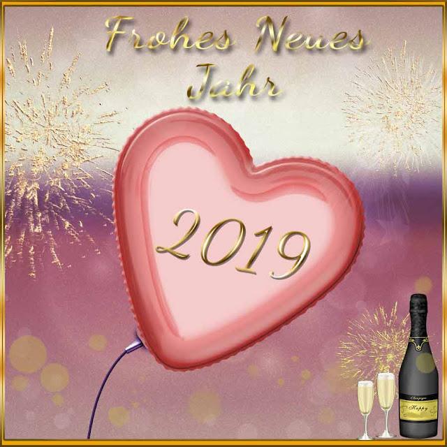 Herzlichen Gruss zum neuen Jahr 2019