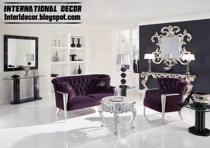 Modern Home Exteriors International Living Room Ideas With Purple Furniture 2013