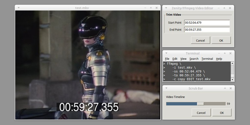 oioiiooixiii: FFmpeg: Simple video editor with Zenity front-end
