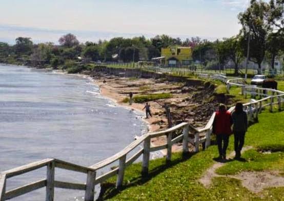Resultado de imagen para Defensas costeras en Corrientes: avanzan las obras en Lavalle