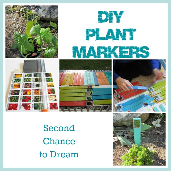 DIY Plant Markers - Second Chance To Dream