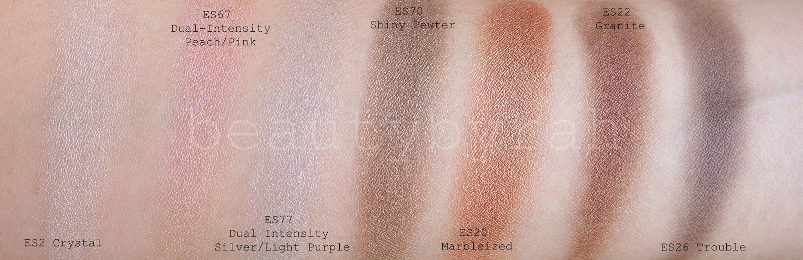 morphe brushes single eyeshadows review and swatches neutral shades