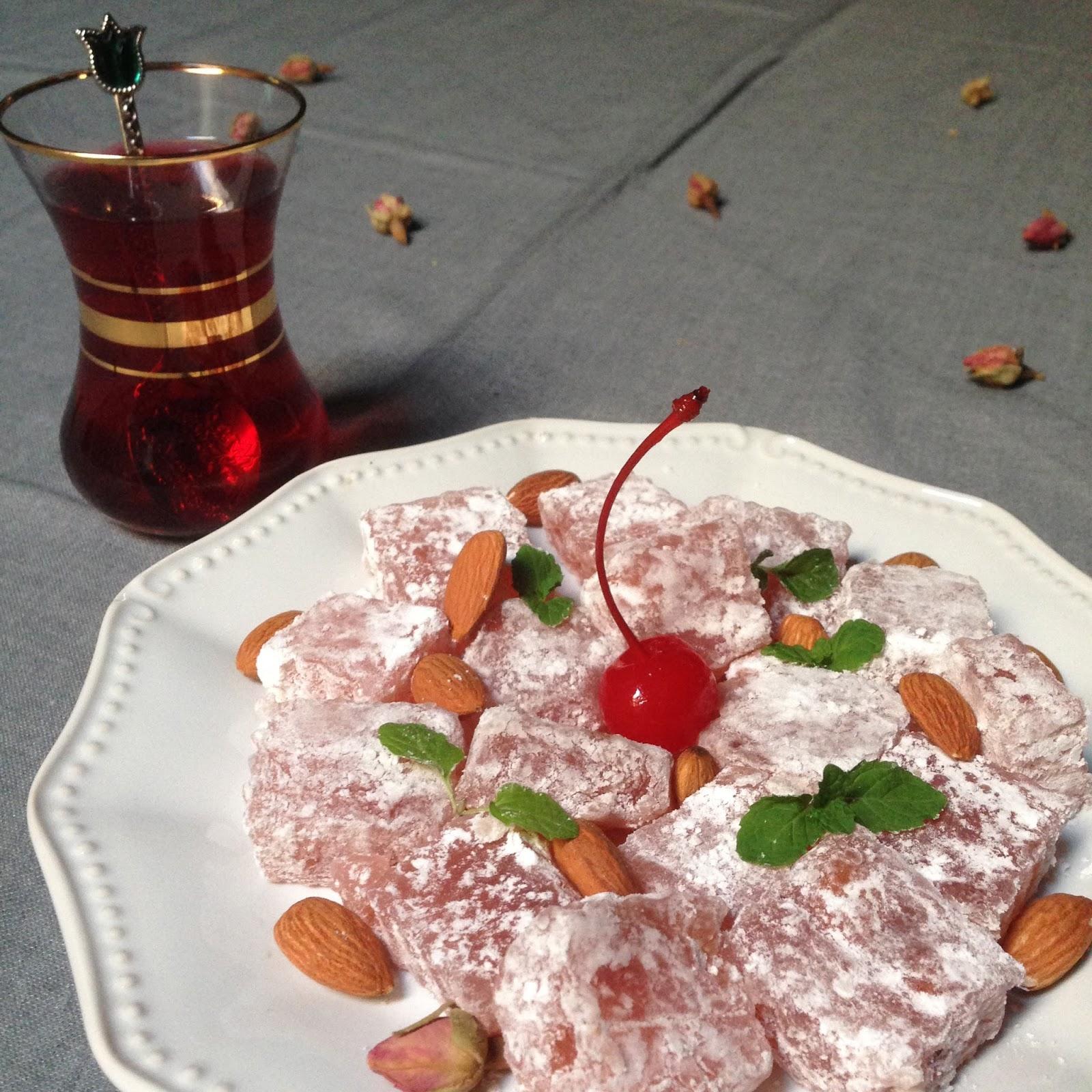 Nar Lokum Traditional Turkish Delight Ikas Kitchen