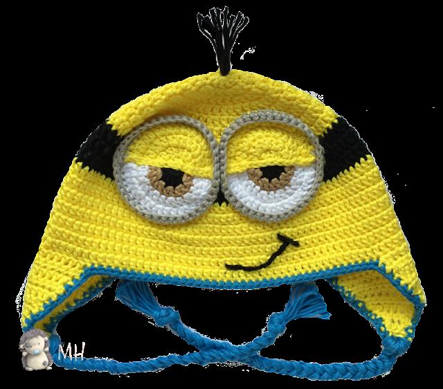 Gorro Minion a crochet